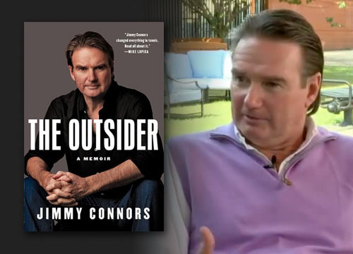 "Jimmy Connors releases his new autobiography titled ""The Outsider.."" Through the book, Connors decides to finally let the public into the world he created on and off of the tennis court.."