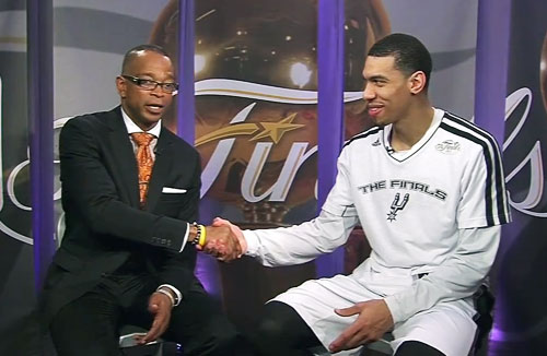 Danny Green speaks with ESPN's Stuart Scott to discuss his performance in Game 5 of the NBA Finals.