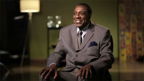 "Meadowlark Lemon speaks about his  1959 mission to Russia in the video: ""From Harlem With Love."" width="