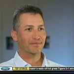 Photo shows Andy Pettitte during an April 2014 interview.