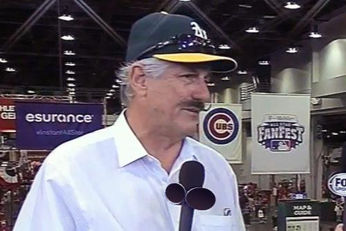 World Series Champ and Baseball Hall of Famer Rollie Fingers