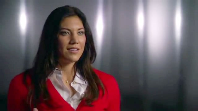 Hope Solo Olympic Athlete